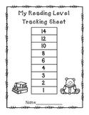 Reading level tracking sheet FREEBIE!