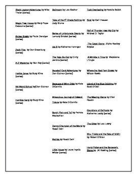 Reading list for parents