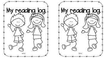 Reading log booklets