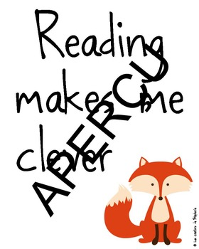 Reading makes me clever
