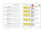 Reading menu Journeys Lesson 3