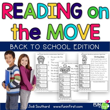 Reading on the Move Back to School Edition