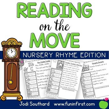 Reading on the Move Nursery Rhymes Edition