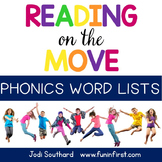 Reading on the Move Phonics Word Lists