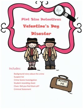 Valentine's Day Reading or Listening Activity: Valentine's Day Disaster Mystery
