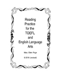 Reading practice for TOEFL or Language Arts