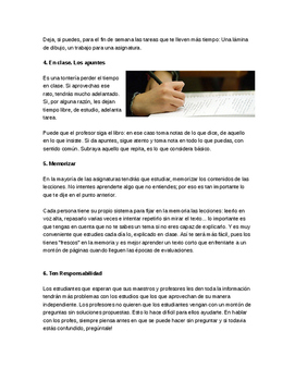 Reading quiz Spanish • DP style questions • Text handling • Paper 1