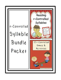 Reading r-Controlled Vowels Bundle Packet
