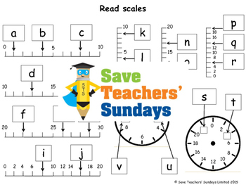Reading Scales Lesson Plans, Worksheets and More