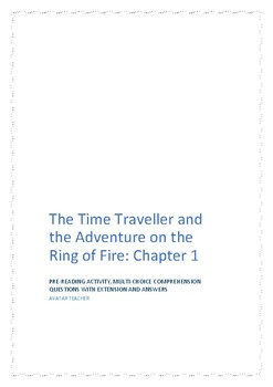 Reading skills with The Time Traveller and the Adventure on the Ring of Fire C 1