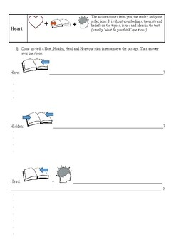 Reading strategies guided practice
