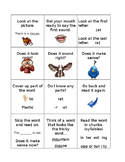 Reading strategies to use with early readers.