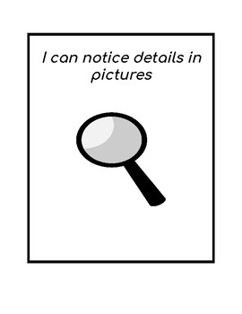 Reading strategy:  I can notice details in pictures