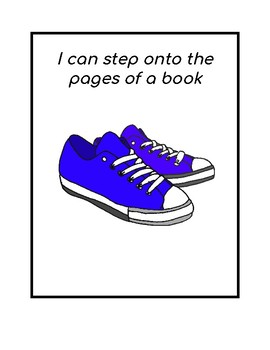Reading strategy:  I can step onto the pages of a book