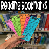 Reading strategy bookmark Distance Learning