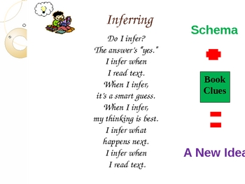 Reading strategy songs on ppt