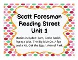 Reading street Language Book Unit 1