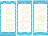 Reading street Review unit 1st grade sight word mats