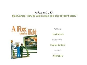 Reading street unit 1 week 4 fox and a kit