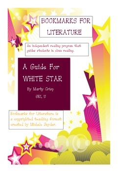 """Reading system and worksheets for """"White Star, Dog on the Titanic"""""""