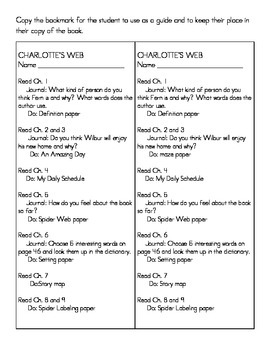 Reading system for Charlotte's Web