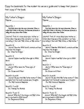 Reading system for My Father's Dragon