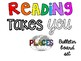 Reading takes you places Bulletin Board set poster