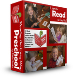 Reading the Easy Way: Preschool  {88 page, 12 week Pre-Primer Dolch Program}