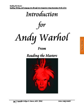 Reading the Masters - Andy Warhol (Teacher/Student Edition)