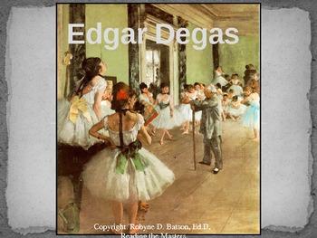 Reading the Masters - Edgar Degas (Power Point)