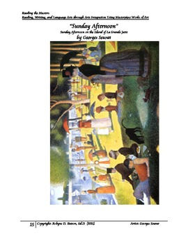Reading the Masters with Georges Seurat (Teacher/Student Manual)