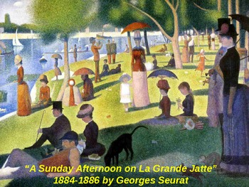 Reading the Masters with Georges Seurat (powerpoint)