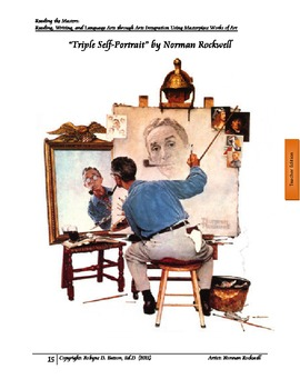 Reading the Masters with Norman Rockwell (Teacher/Student Manual)