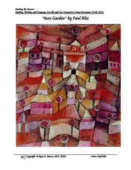Reading the Masters with Paul Klee (Teacher/Student Edition)