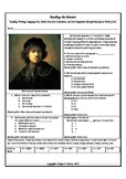 Intervention and Test Prep with Rembrandt Skills Sheet