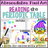 Reading the Periodic Table Pixel Art Digital Review