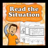 Reading the Situation -practice assessing social situations through observations