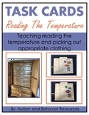 Reading the Temperature and Picking Clothes Task Cards