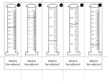how to find volume with a graduated cylinder