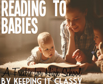 Reading to Babies--A Freebie