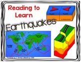 Reading to Learn- Earthquakes