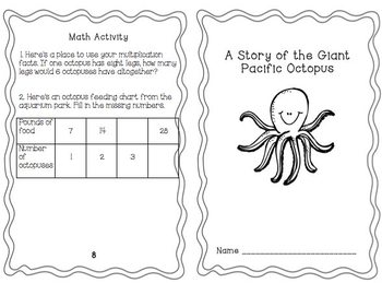 Reading to Learn- Giant Pacific Octopus