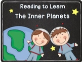Reading to Learn- Inner Planets Bonus Included