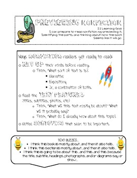 Reading to Learn: Lucy Calkin's Reader's Workshop Grade 3 Unit 2 ISN