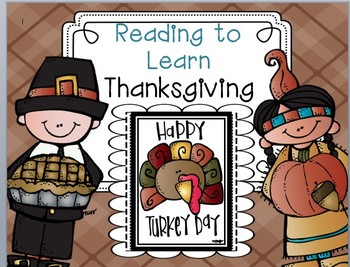 Reading to Learn- Thanksgiving