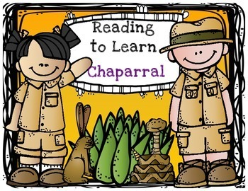 Reading to Learn- The Chaparral