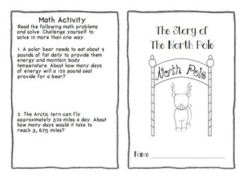 Reading to Learn- The North Pole