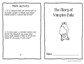 Reading to Learn- Vampire Bats