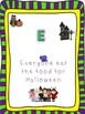Reading to Perform a Task:  A Halloween Delectable Task
