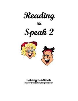 Reading to Speak 2:  Guided Speaking Activity for English Language Learners